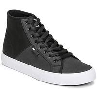 Shoes Men Hi top trainers DC Shoes MANUAL HI TXSE Black / White