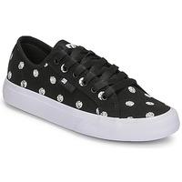 Shoes Women Low top trainers DC Shoes MANUAL TXSE Black / White