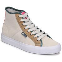 Shoes Women Hi top trainers DC Shoes MANUAL HI SE Beige