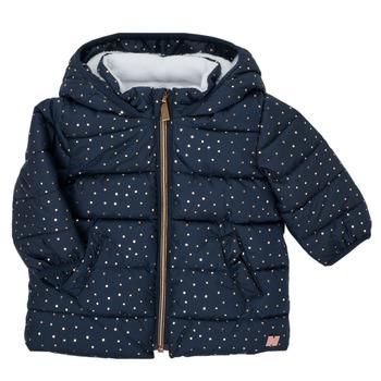 Clothing Girl Duffel coats Carrément Beau AIGUE-MARINE Marine