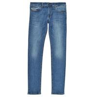 Clothing Boy Skinny jeans Diesel SLEENKER Blue / Medium