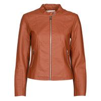 Clothing Women Leather jackets / Imitation leather Vila VIBLUE Rust