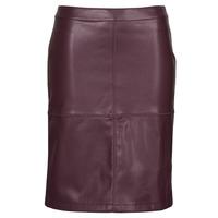 Clothing Women Skirts Vila VIPEN Bordeaux