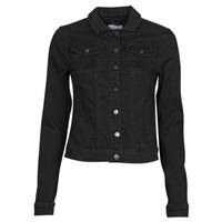 Clothing Women Denim jackets Vila VISHOW Black