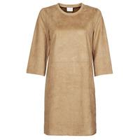 Clothing Women Short Dresses Vila VISUDA Brown