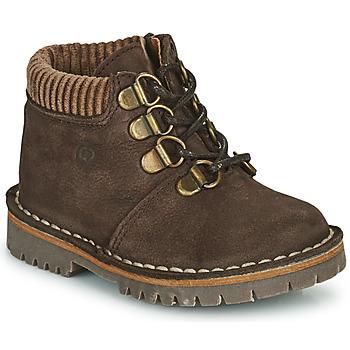Shoes Boy Mid boots Citrouille et Compagnie PRINCE Brown