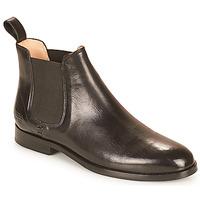 Shoes Women Mid boots Melvin & Hamilton SUSAN 10 Black