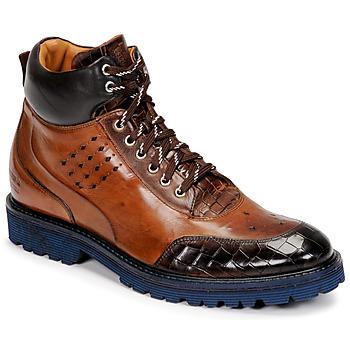 Shoes Men Mid boots Melvin & Hamilton TREVOR 28 Brown