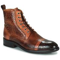 Shoes Men Mid boots Melvin & Hamilton PATRICK 28 Brown