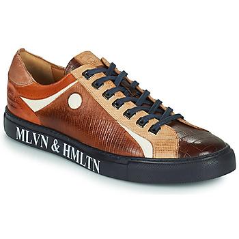 Shoes Men Low top trainers Melvin & Hamilton HARVEY 9 Brown