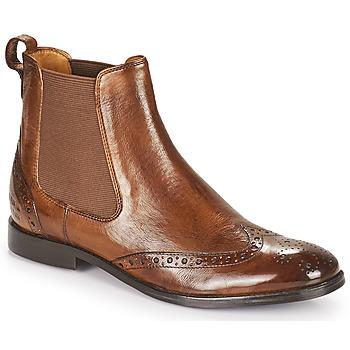 Shoes Women Mid boots Melvin & Hamilton AMELIE 5 Brown