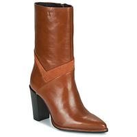Shoes Women High boots Bronx NEXT AMERICANA Brown