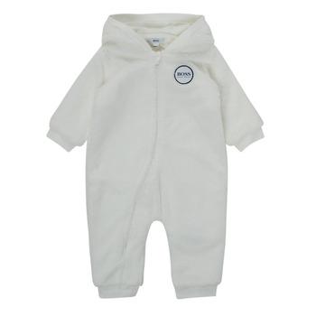 Clothing Boy Duffel coats BOSS SAMILA White