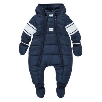 Clothing Boy Duffel coats BOSS TRENINE Marine