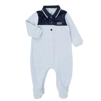 Clothing Boy Sleepsuits BOSS FILOMENA Blue