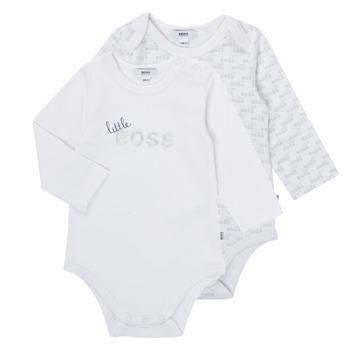 Clothing Boy Sleepsuits BOSS SEPTINA White