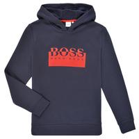 Clothing Boy Sweaters BOSS MARKE Marine