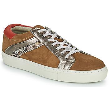 Shoes Women Low top trainers Betty London PITINETTE Cognac