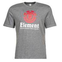 Clothing Men Short-sleeved t-shirts Element VERTICAL SS Grey