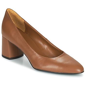Shoes Women Heels Betty London  Cognac
