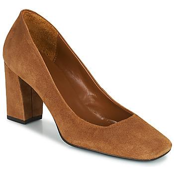 Shoes Women Heels Betty London PANER Camel