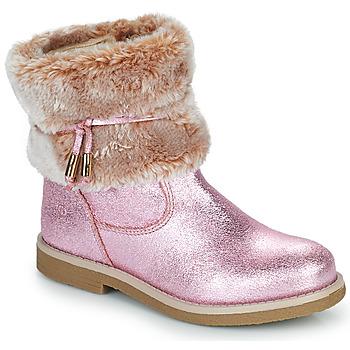 Shoes Girl Mid boots Citrouille et Compagnie PAKRETTE Pink / Iris
