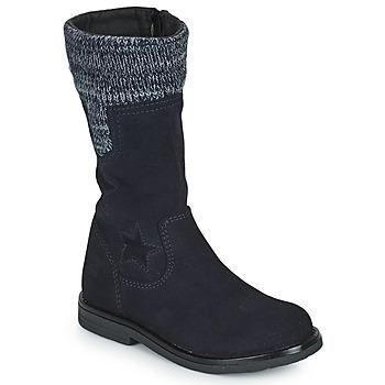 Shoes Girl High boots Citrouille et Compagnie PRARA Marine