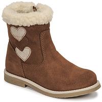 Shoes Girl High boots Citrouille et Compagnie PARAVA Camel