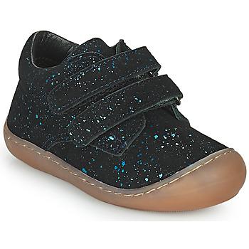 Shoes Girl Hi top trainers Citrouille et Compagnie PIOTE Blue