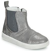 Shoes Girl Mid boots Citrouille et Compagnie PIMANE Grey