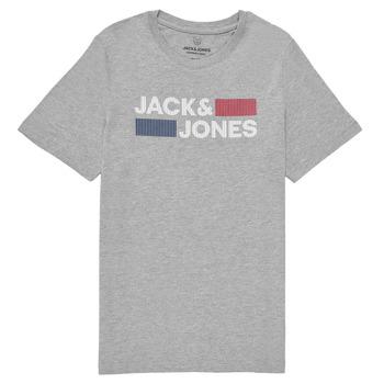 Clothing Boy Short-sleeved t-shirts Jack & Jones JJECORP LOGO TEE SS Grey