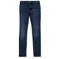 Clothing Boy Slim jeans Jack & Jones JJILIAM Blue / Dark