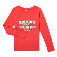 Clothing Girl Long sleeved tee-shirts Only KONTINNA Pink