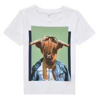 Clothing Boy Short-sleeved t-shirts Name it NMMKYLAN SS TOP White