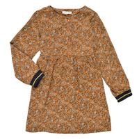 Clothing Girl Short Dresses Name it NKFKRINFRA LS DRESS Orange