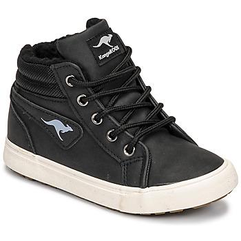 Shoes Boy Hi top trainers Kangaroos KAVU I Black