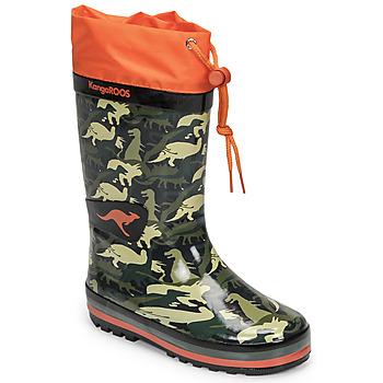 Shoes Boy Wellington boots Kangaroos K-RAIN Kaki