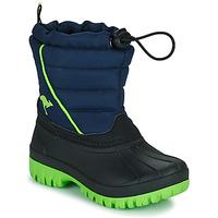 Shoes Boy Snow boots Kangaroos K-BEN Blue / Green