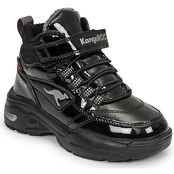 Shoes Girl Hi top trainers Kangaroos KC-ICY EV RTX Black