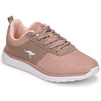 Shoes Women Low top trainers Kangaroos BUMPY Pink