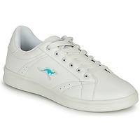 Shoes Women Low top trainers Kangaroos K-TEN II White