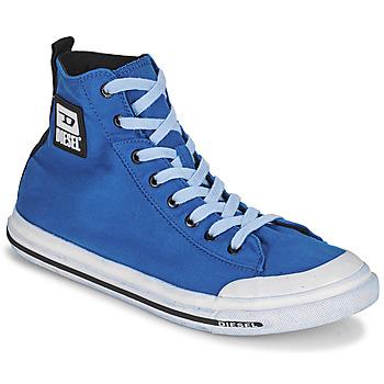 Shoes Men Hi top trainers Diesel FAMILA Blue