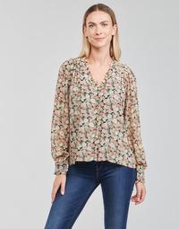 Clothing Women Tops / Blouses Betty London PEPPER Black / Multicolour