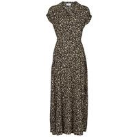 Clothing Women Long Dresses Betty London PARILLA Black / Multicolour