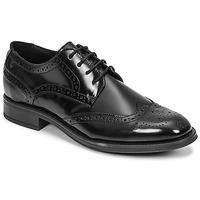 Shoes Men Derby Shoes Carlington LOUVIAN Black