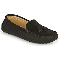 Shoes Women Loafers Casual Attitude GATO Black