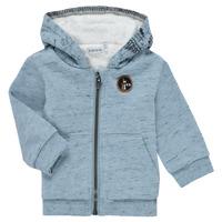 Clothing Boy Jackets / Cardigans Ikks AZUR Blue