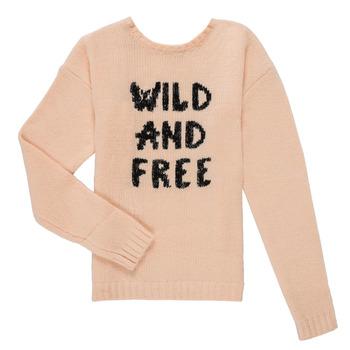 Clothing Girl Jumpers Ikks ISABELLE Pink