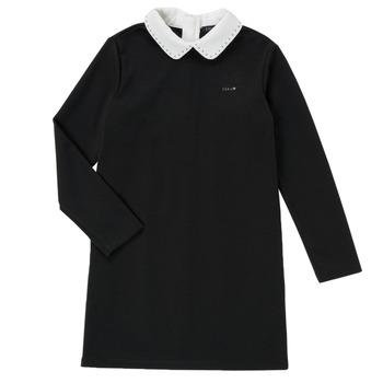 Clothing Girl Short Dresses Ikks LIN Black