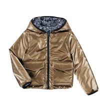 Clothing Girl Jackets Ikks ORCHIDEE Marine